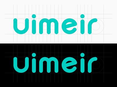 UIMEIR logo branding parper poster ui design