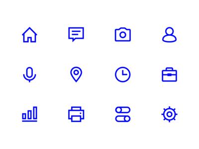 icon design local me home logo icon ui design