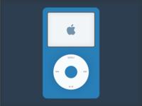 Flat iPod Classic