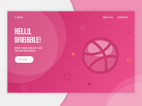 Hello, dribble! First Shot :)