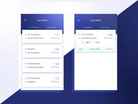 Corporate Shuttle Service - Mobile UI