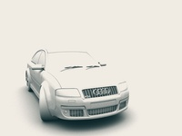 Audi - Ambient Occlusion