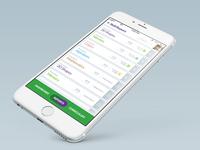 Report - iPhone IOS version - UI / UX
