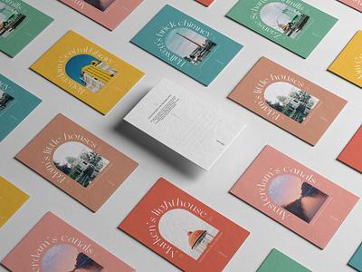 Windows from the Netherlands - Postcards design postcard design netherlands analog photography travel postcard typography print design graphic design branding design