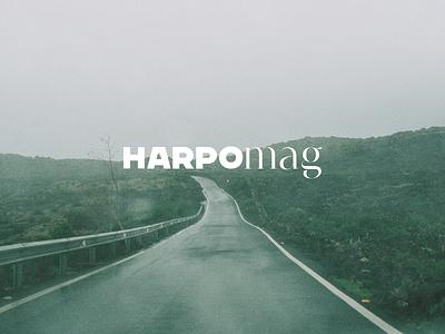 Harpo Mag logo logo designs logodesign minimal logo typography brand branding design graphic design branding design