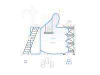 Like on Facebok