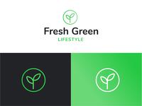 Fresh Green Lifestyle logo 🍃
