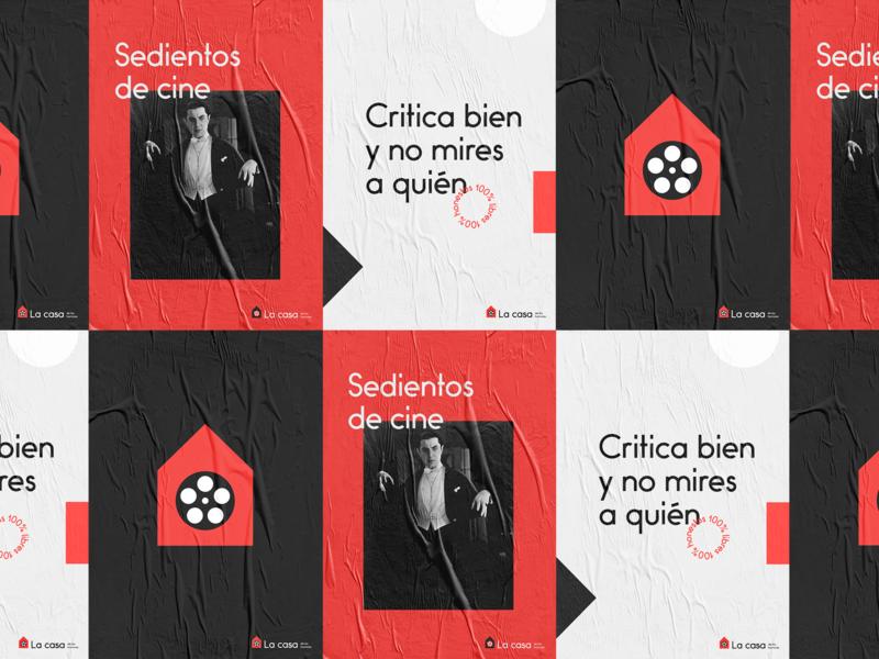 La casa de los horrores - posters typography logo poster design poster brand branding design graphic design branding design
