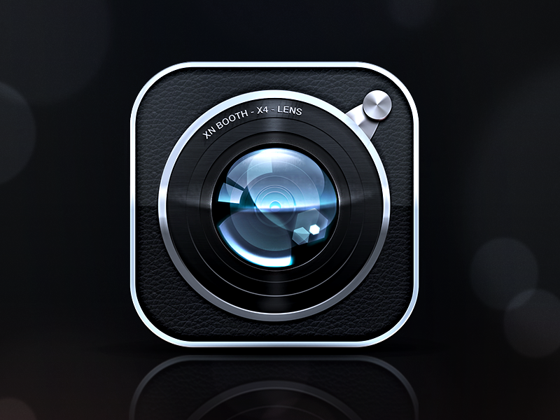 Second Icon XnBooth icon app xnbooth iphone ios photo camera apple