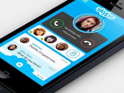 Skype rdesign