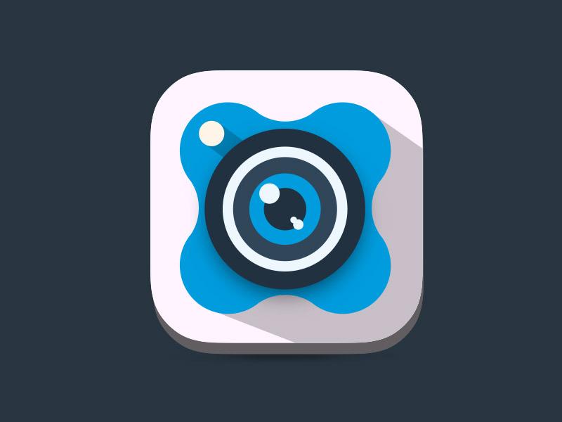 XnExpress icon flat app xnexpress iphone ios photo camera apple