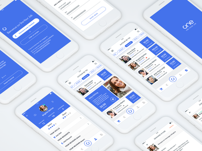 One Hour Job UX UI Design V2