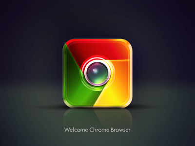 Chrome icon IOS Design apple google chrome icon iphone ios design