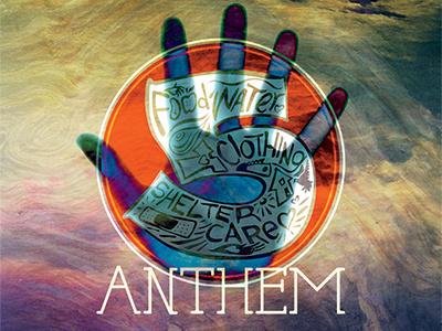 5 Anthem CD cd design typography illustration hand lettered hand 5 anthem