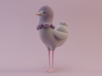 Pigeon WIP 01