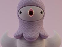 Pigeon WIP 02