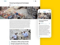 Case Study Responsive Layout
