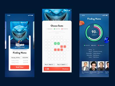 Movie App Concept movie ui design