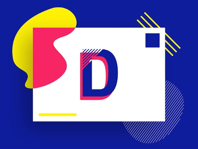 Diversidays branding symbol mark typeface identity blue colorful design logotype