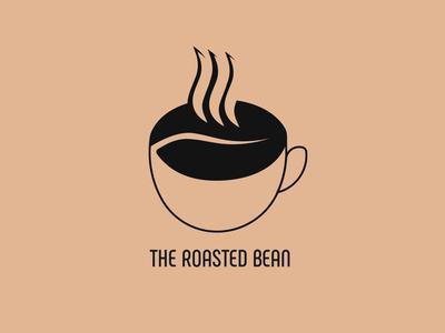 The Roasted Bean Logo