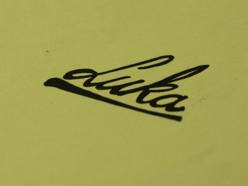 Luka pen paper inspiration day15 dailylogo boovpoov handlettering luka logo dailylogochallenge