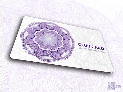 Authentic Guilloche Rosette No. 001 certificate banknote money line flower security design id card guilloche