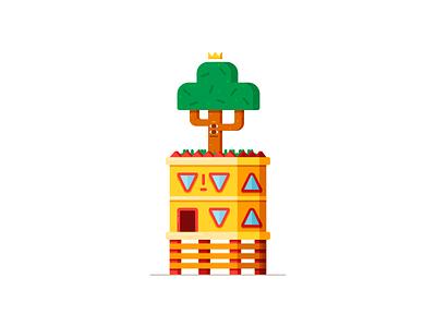 Treehouse treehouse tree house character design 2d design illustration