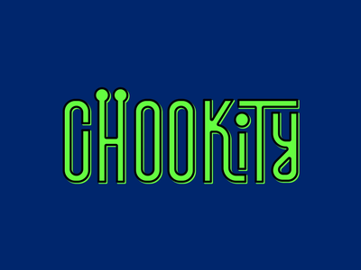 Chookity adobe after effects type art motion design type design typeface final space typography type looping animation 2d design illustration