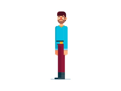 Villager animation villager male man character design character illustrator illustration