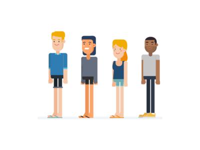 Casual explainer video explainer real estate rental share house home share flatmates illustration design animation 2d