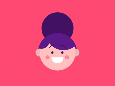Expressions explainer looping gif 2d animation motion design illustration