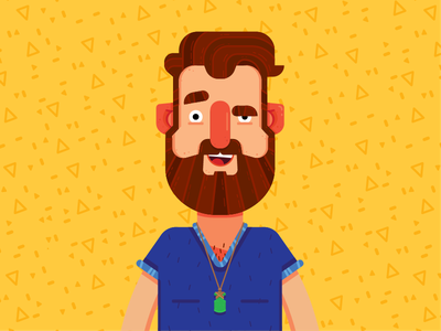 2019 self portrait pattern vector character character design illustration