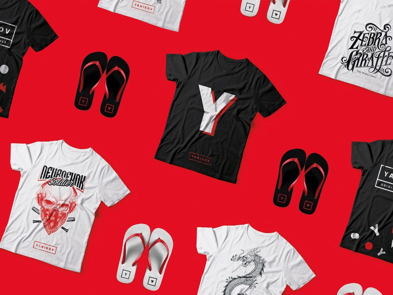 Yanikov Original Clothes Branding visual identity identity design logo illustration branding design