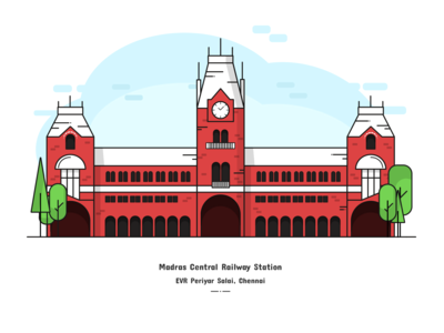 Madras Central Railway Station