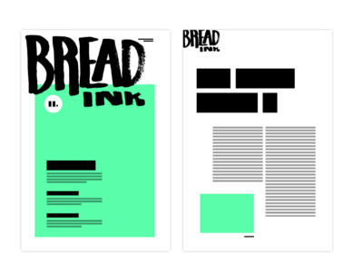Bread Ink Newspaper concept