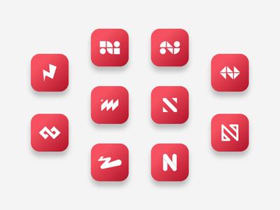 Logo explorations - All Logos