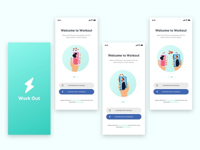 Workout - Onboarding