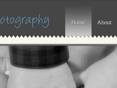 Photo website photo photography website home blue gray