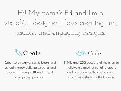 Portfolio ui creative web portfolio