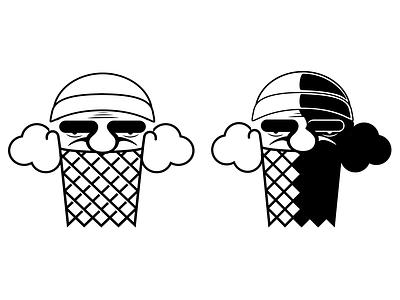 Old Man Basketball illustration work in progress beard basketball logo
