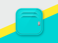 FitKit - Mobile App Icon