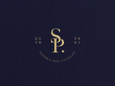 Sashko Pop-Angelov - Visual Identity visual visual identity design initials timeless brand classic elegant traditional logo design branding logo
