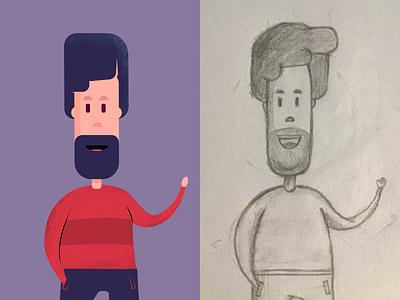 Character Illustration vector character designer affinity illustration