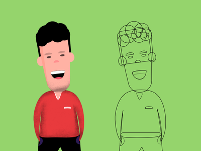 Character Illustration character design drawing affinity character vector illustration design