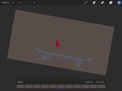 Motion Graphics on iPad motion graphics motiongraphics motion ipad animation lumafusion looom procreate