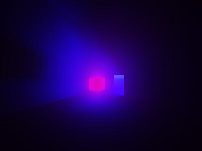 MagicaVoxel Cube shadow light design test cube minimalist voxel 3d magicavoxel