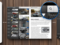 BMW App Concept - iPad