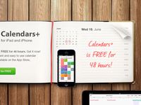 Calendars+ is FREE for 48h
