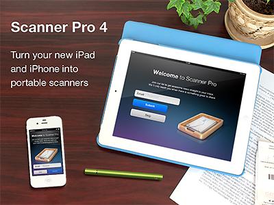 Scanner Pro - App store screen by DKO on Dribbble