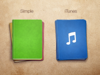 Remarks - simple & itunes folders
